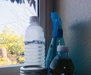 Homemade Household Cleaners + Spring Cleaning Checklist