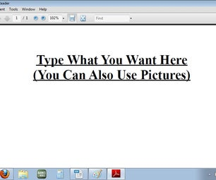 How to Make a PDF in OpenOffice.