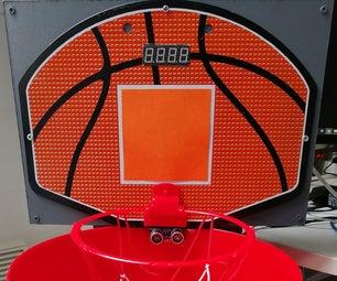 """""""CleanBasket"""" Bin with Basketball hoop"""