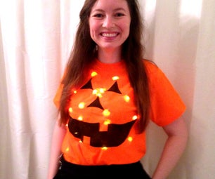 Light-Up Jack-o-Lantern Costume