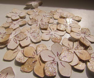 100 Paper Flowers in 20 Min