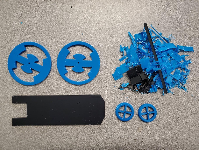 Clean Up 3D Prints