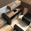 Van Life (or Tiny House) Model: Cardboard-Aided Design