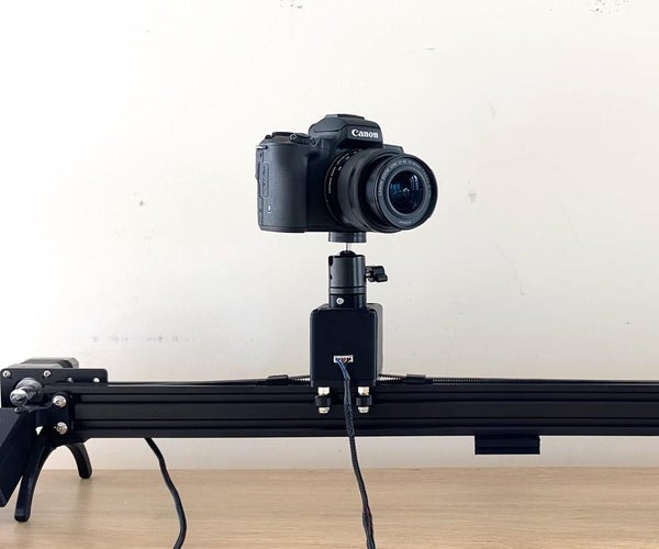 Make a Motorised Pan and Rotate Camera Slider