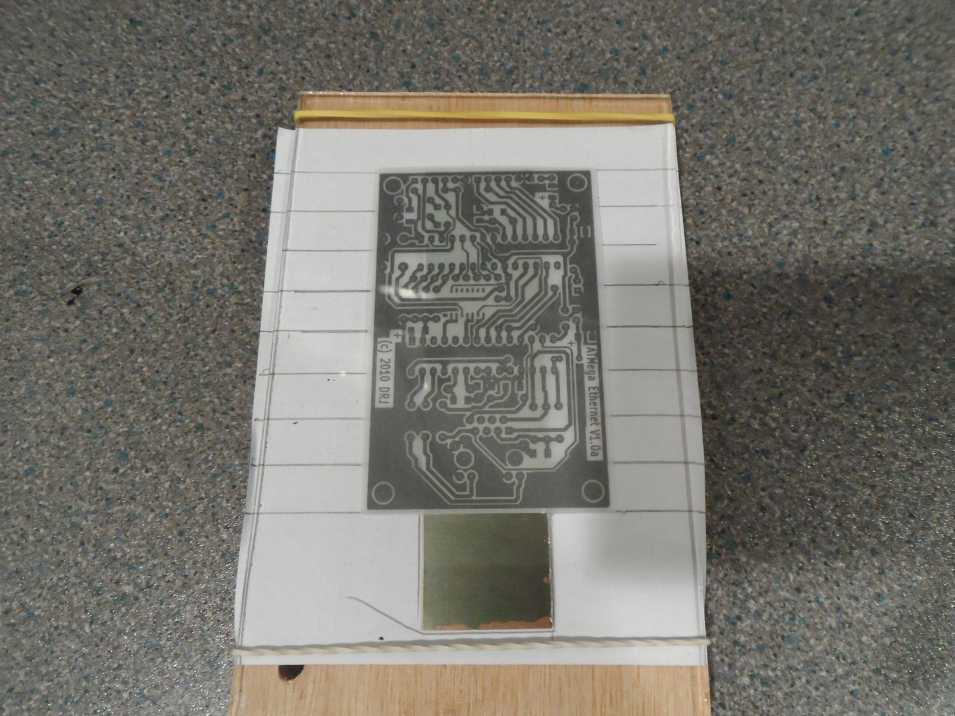 Calibrate the Etching Time