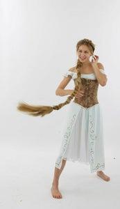Surprisingly Easy Rapunzel Costume
