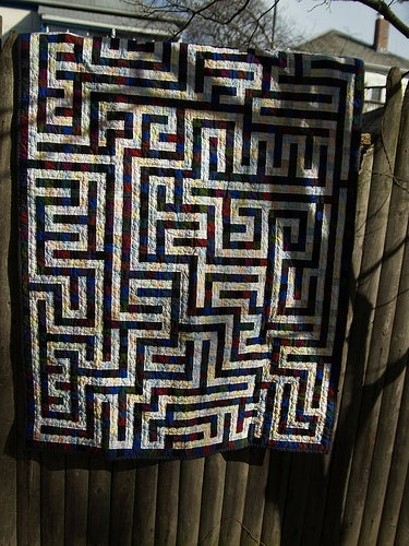 Maze Quilt - Design Choices