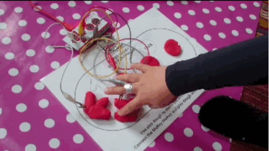 Combine Conductive Dough With Makey Makey