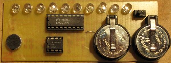Battery Powered Portable VU Meter