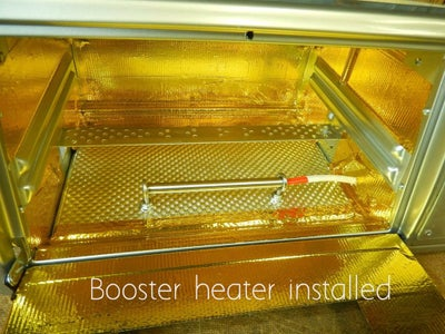 Install the Booster Heater