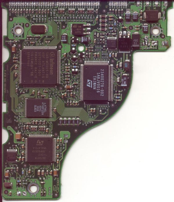 Salvage Surface Mount Components