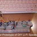 DIY Distortion Less LIFI Speaker