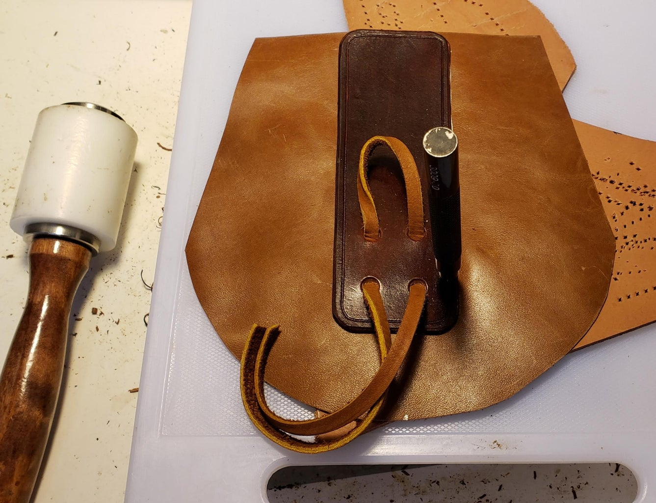Attaching the Front Piece to the Bag