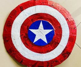Easy Captain America Shield With Strap