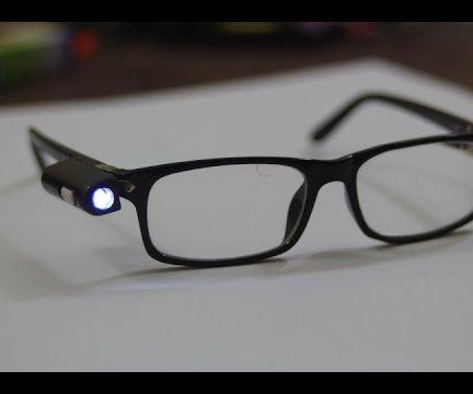 How I costum my glasses adding a LED