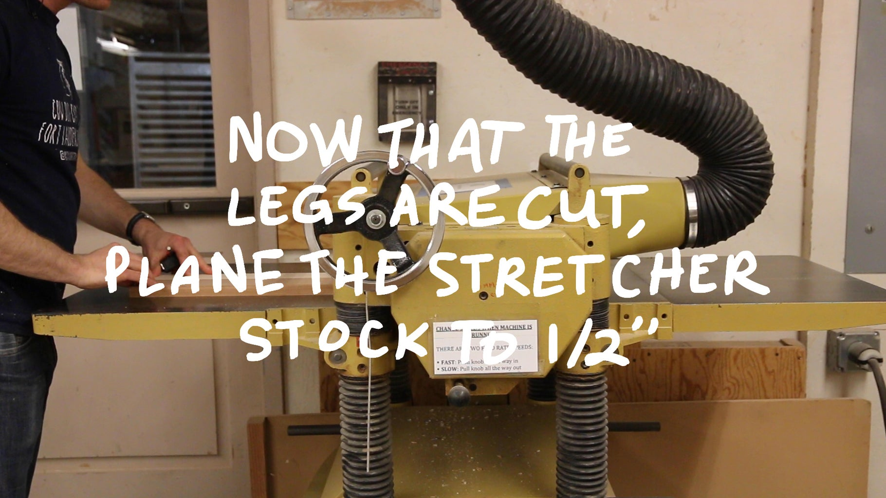 Making the Stretcher Stock