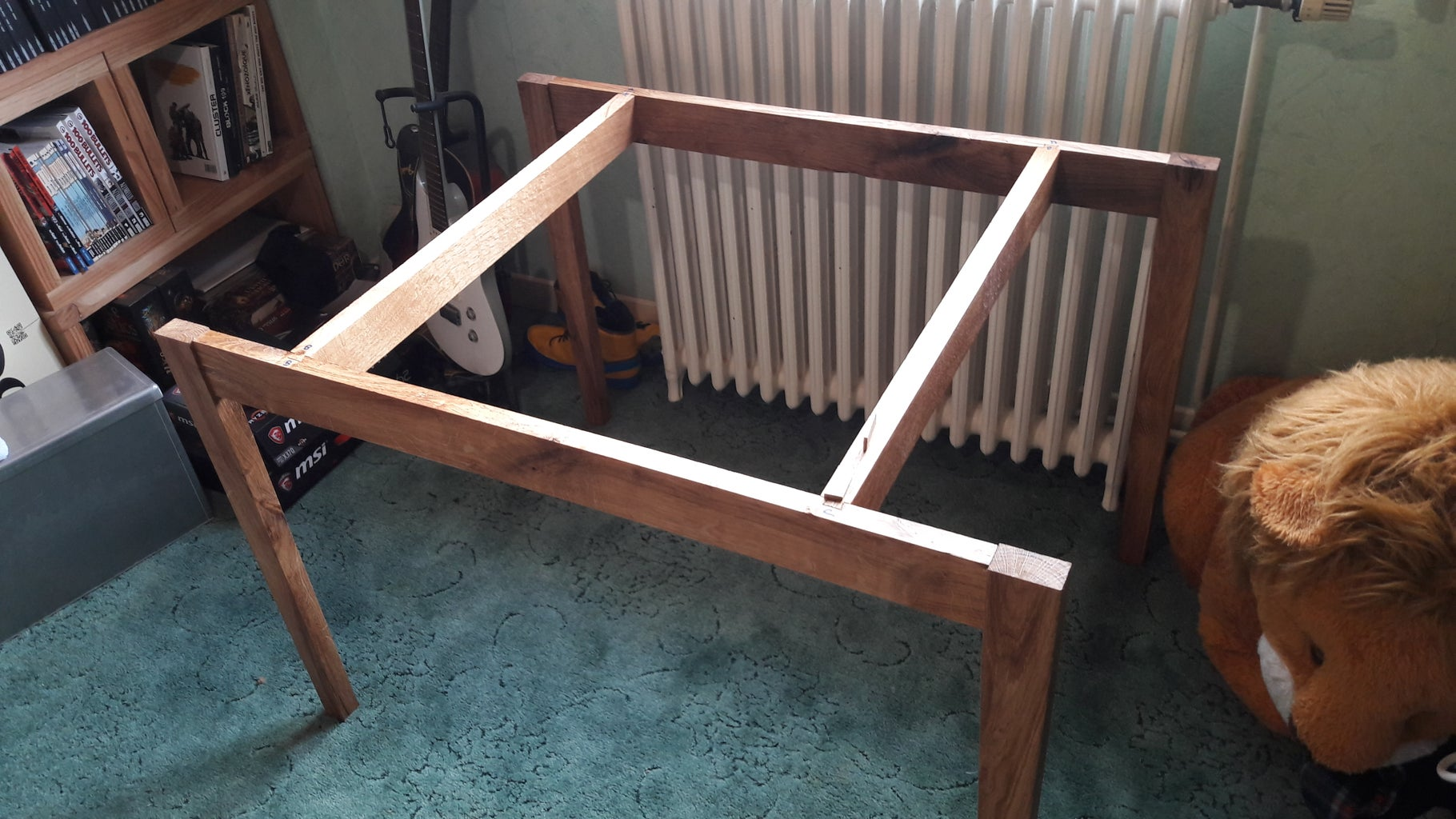 Last Step : Assembly the Table