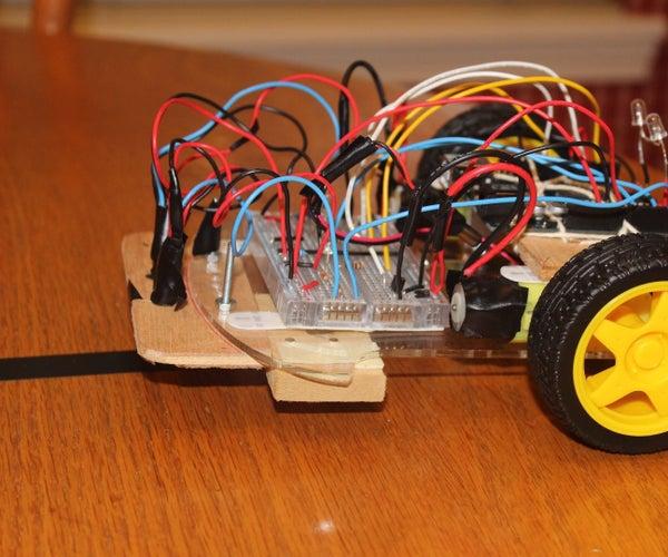 Bob the Arduino Line-Following Robot