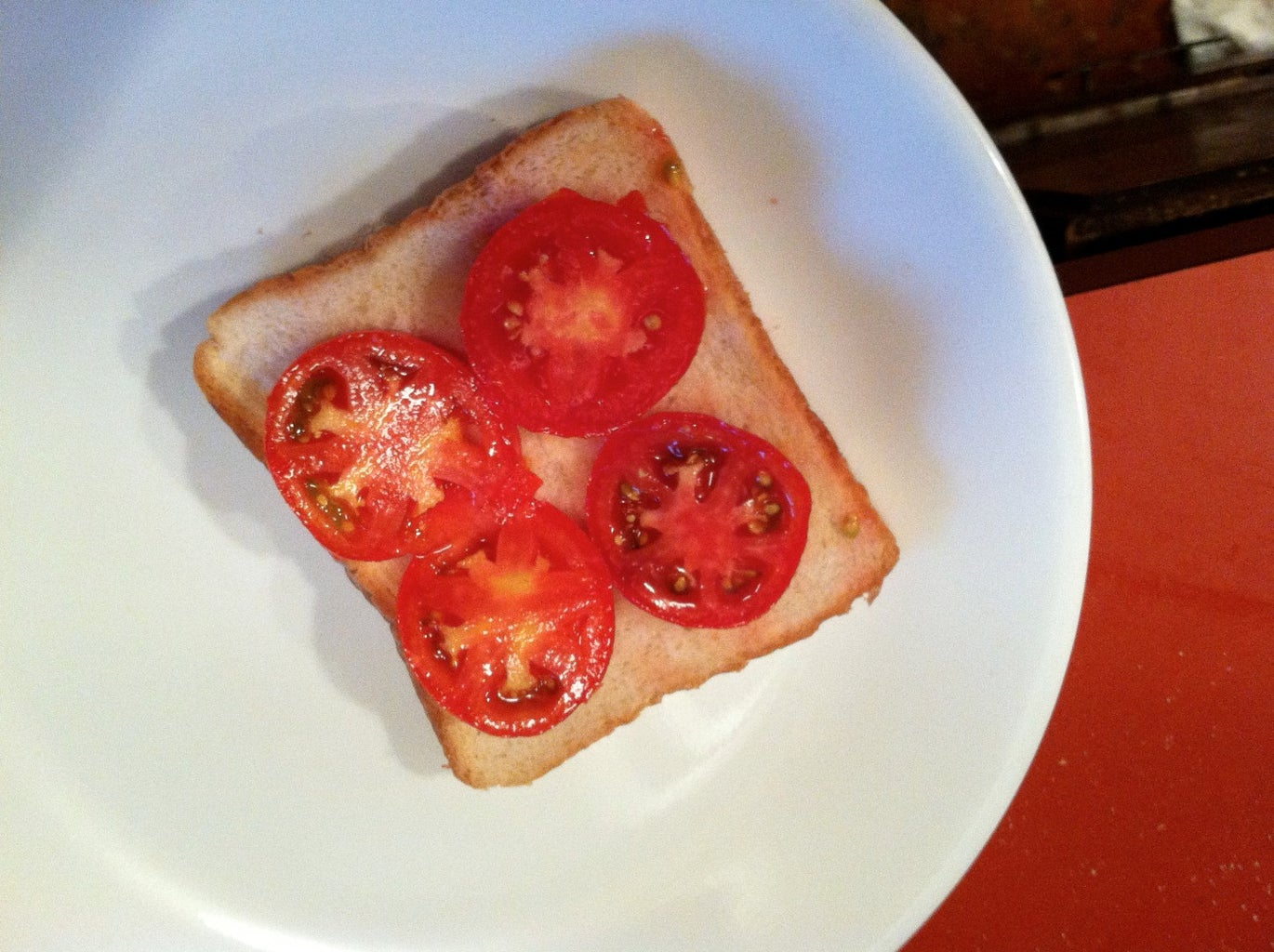 Place the Connected Slices on Your Bread