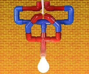 The Amazing Spiderman Hanging Light