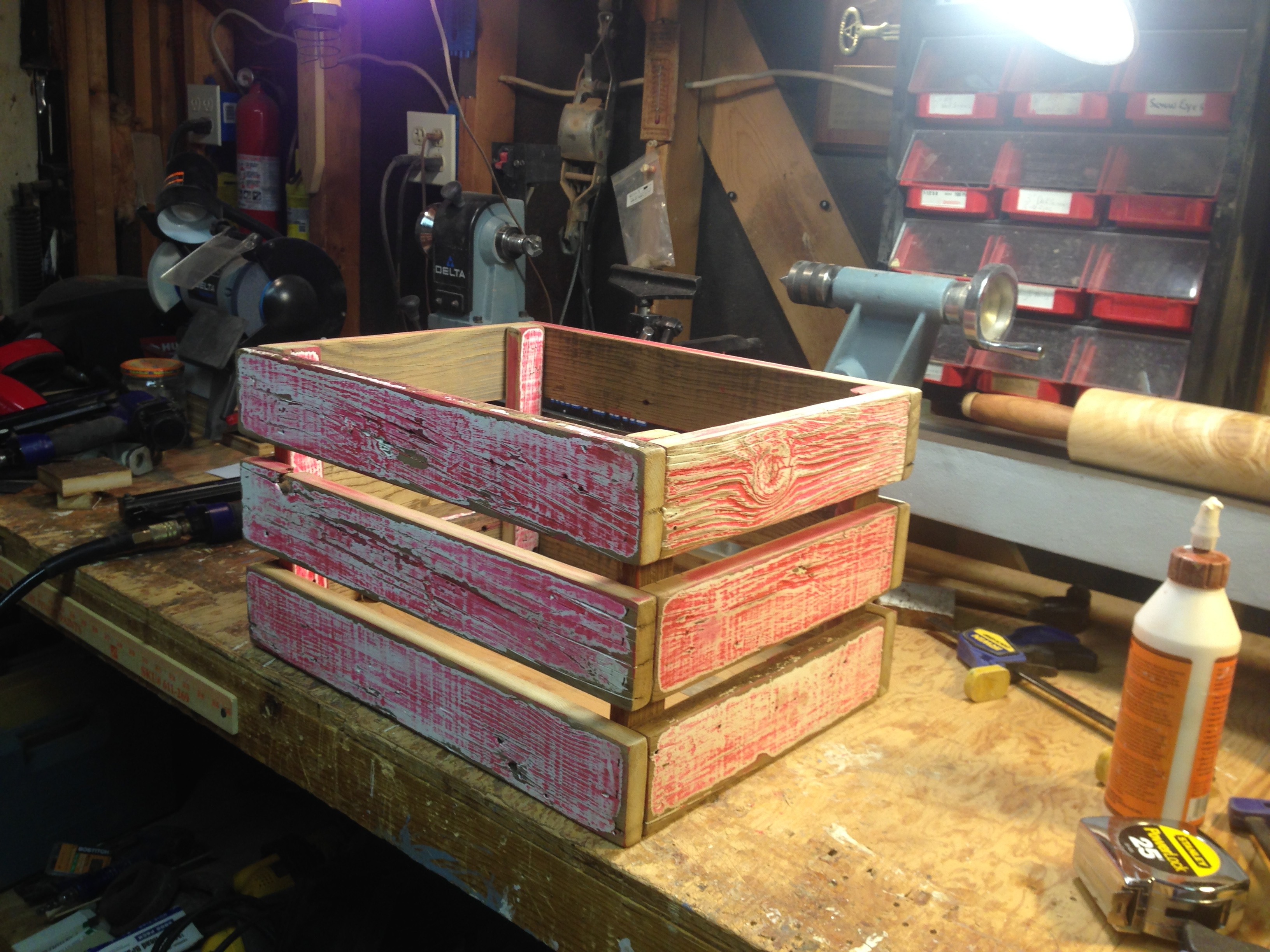 Making an old crate