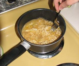 Easy Egg Flower Ramen Soup