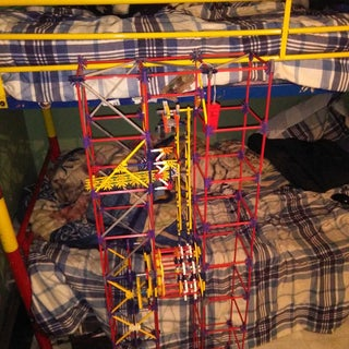 Ferris Wheel Lift, a Knex Ball Machine Lift
