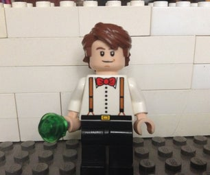 How to Make a Lego 11th Doctor