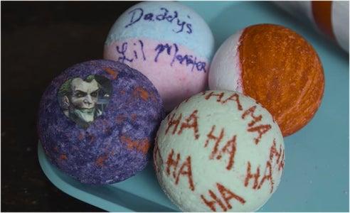 Harley Quinn/ Joker Bath Bombs