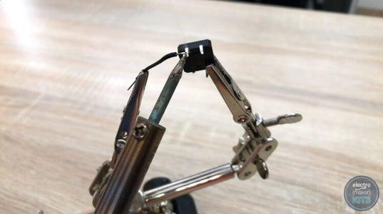 Wiring the Arduino: