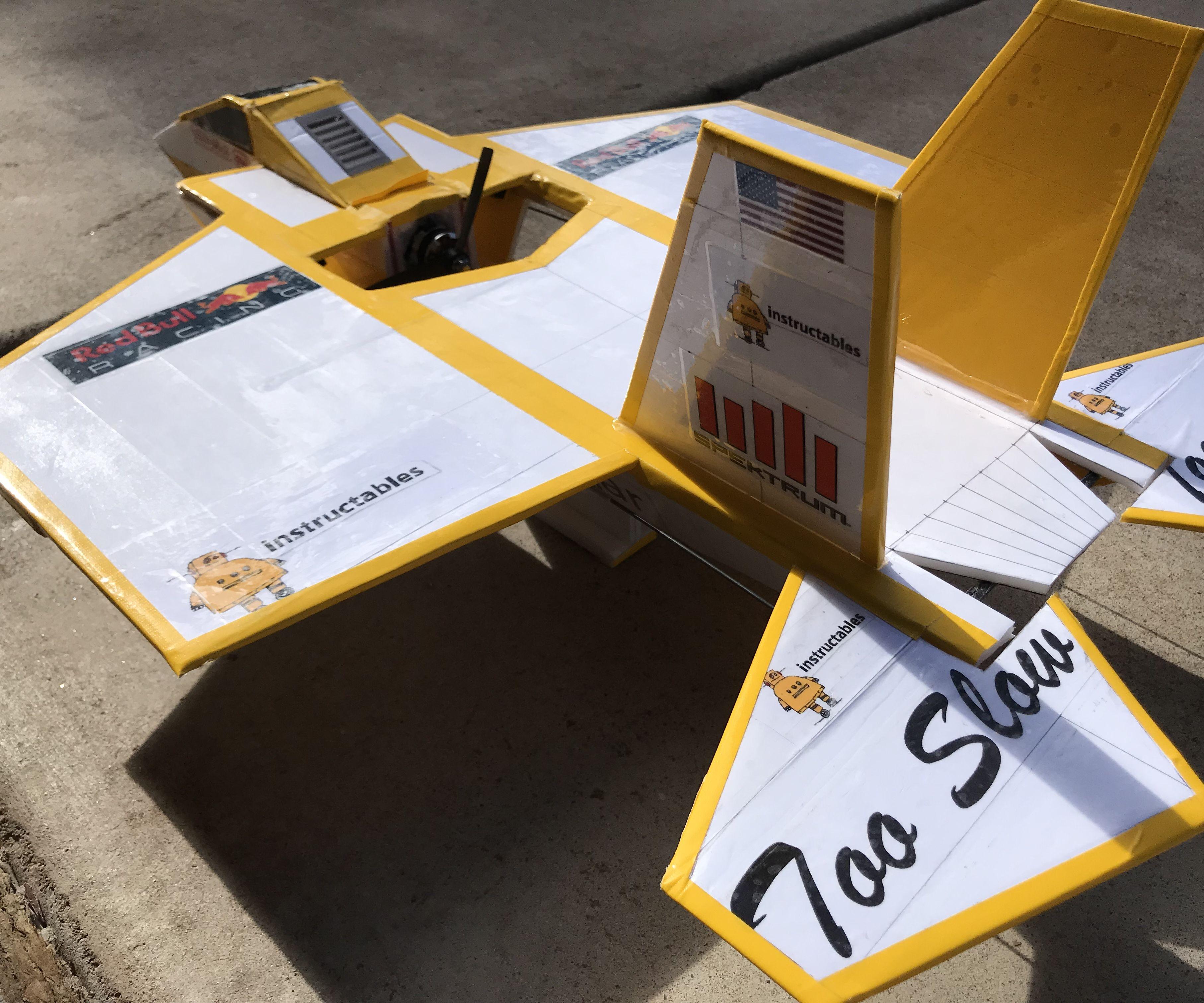 How to Make a R/C Mini F35S, Mr.K's Hangar Style, Instructable Edition.