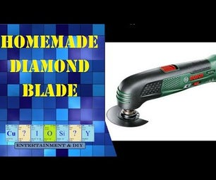 Homemade Diamond Blade for Multi-tool