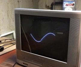 DIY Analog Oscilloscope From Old TV
