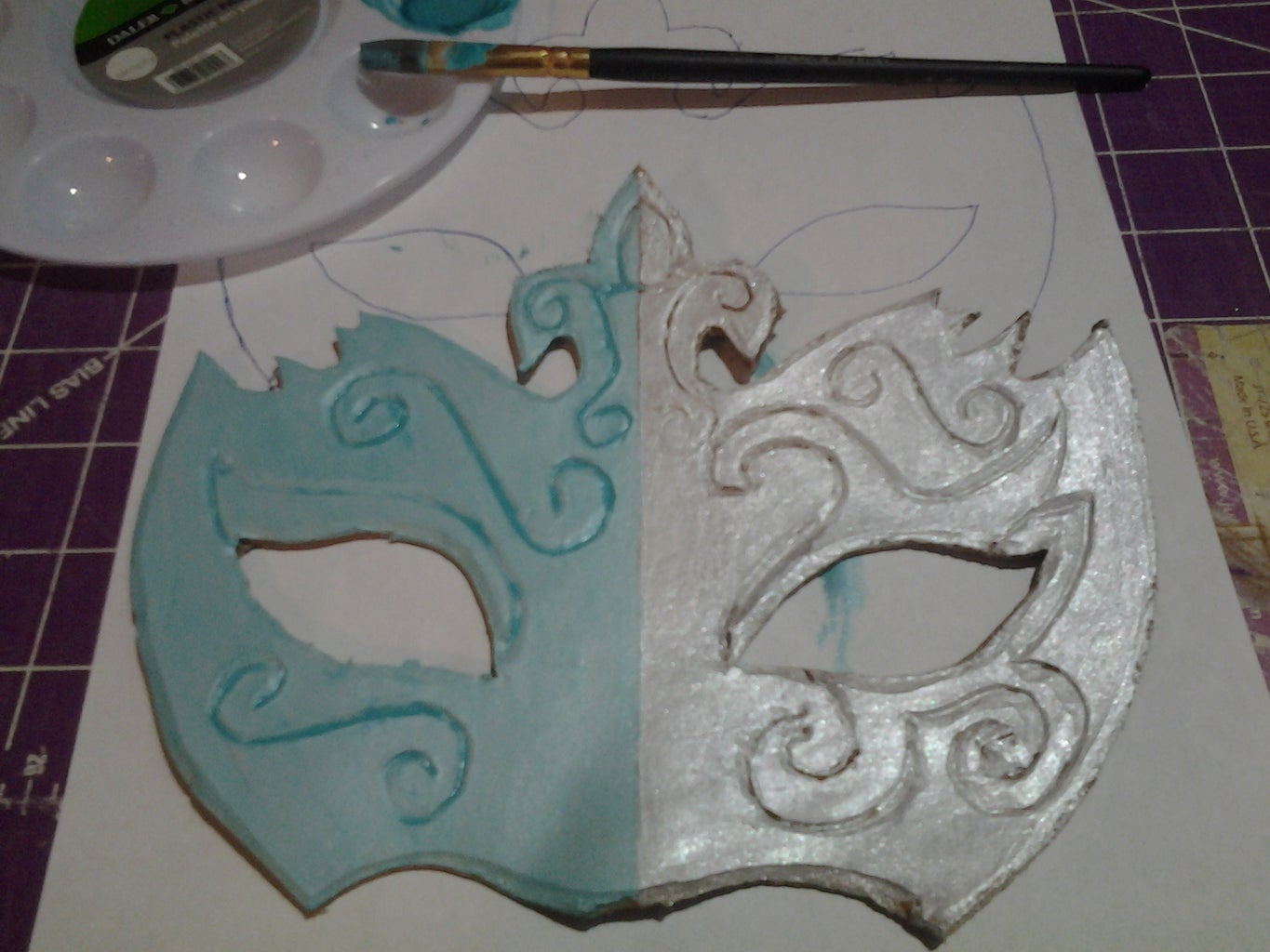 Painting the Mask
