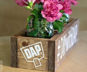 Wooden Centerpiece Box
