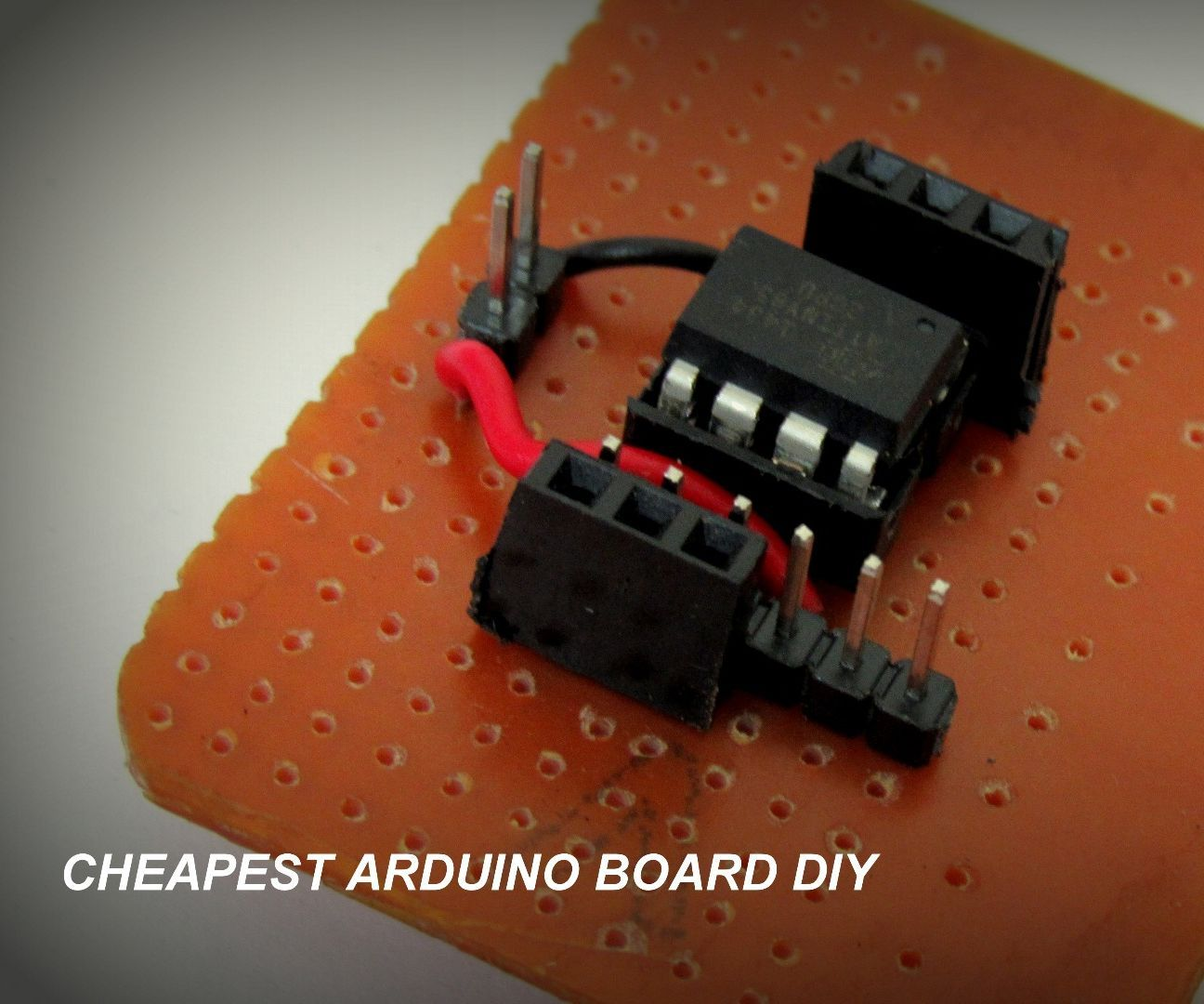 How to make a cheap Attiny Arduino Board