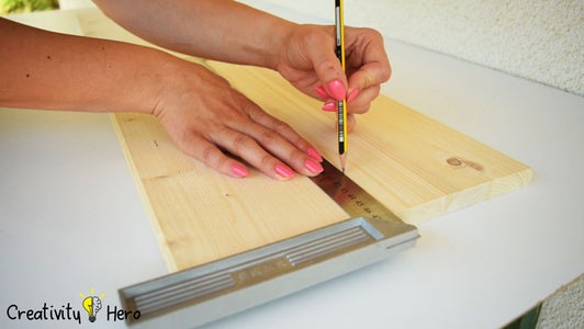 Marking the Boards.