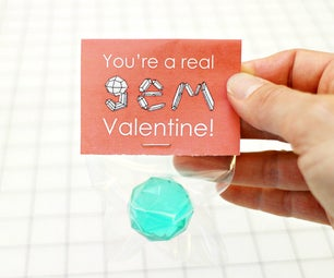 No Candy Valentine for Kids