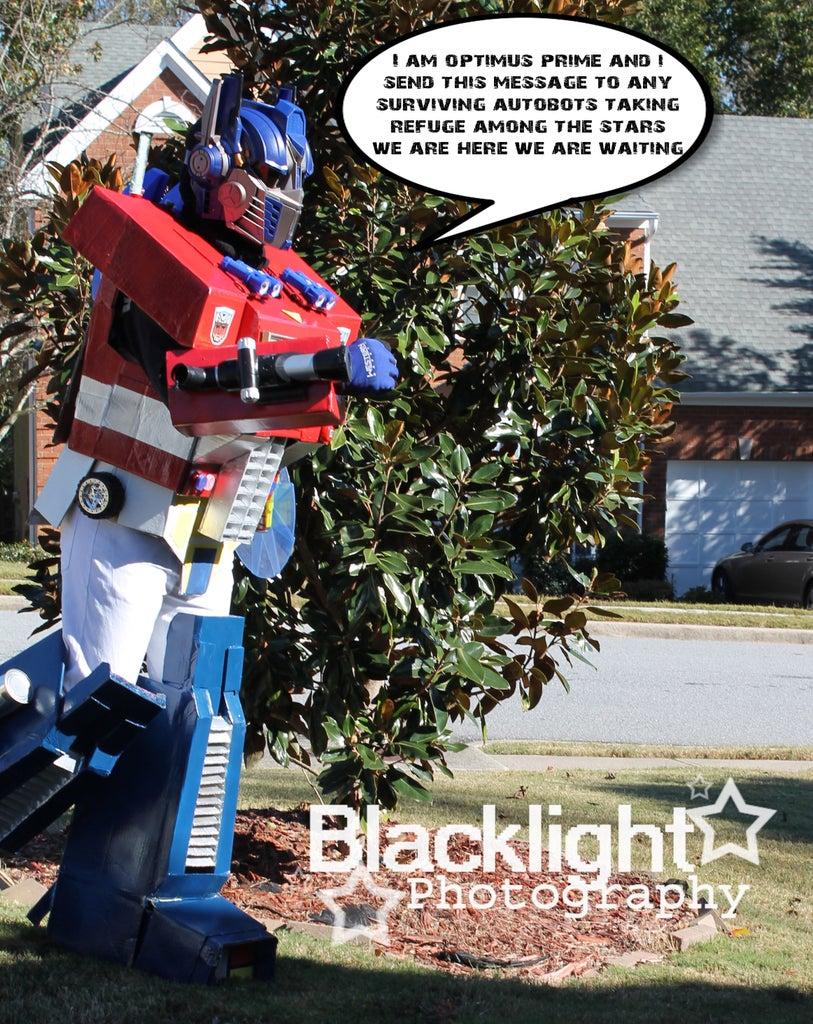 Transformers Optimus Prime Costume