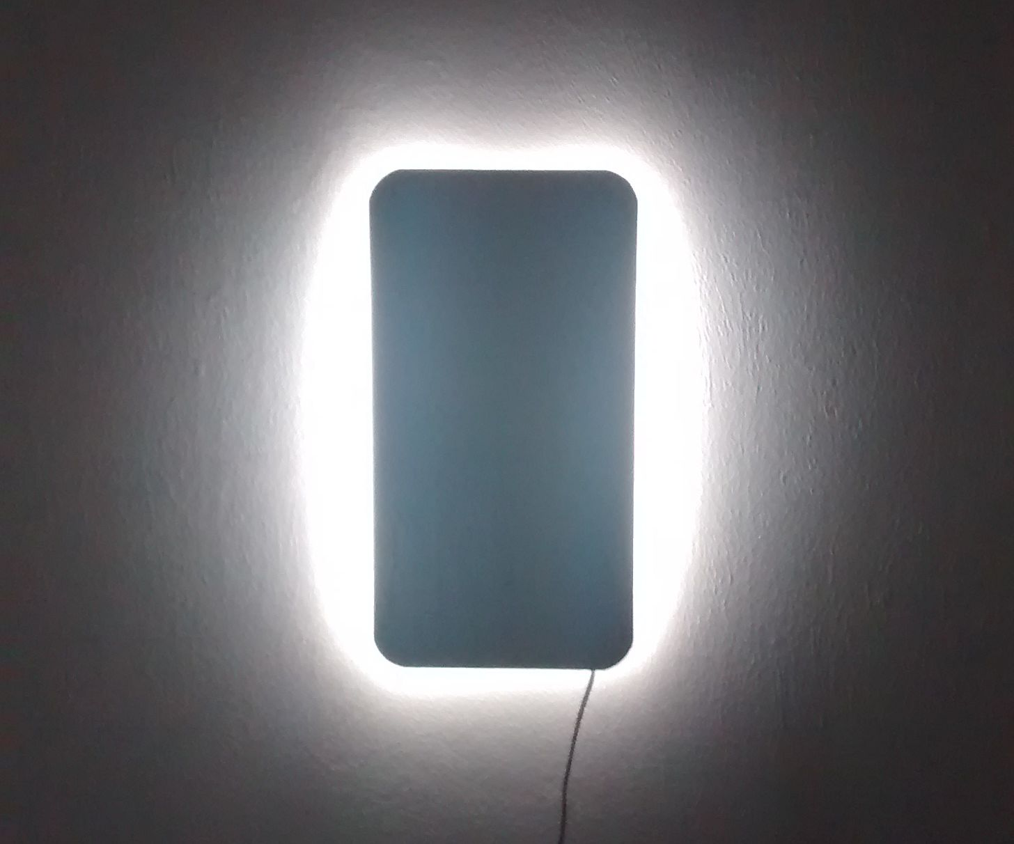 Minimalistic LED wall light