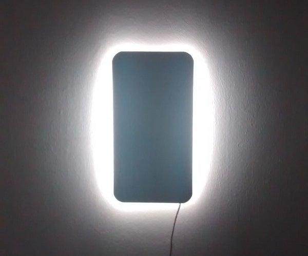 Minimalistic LED Wall Light