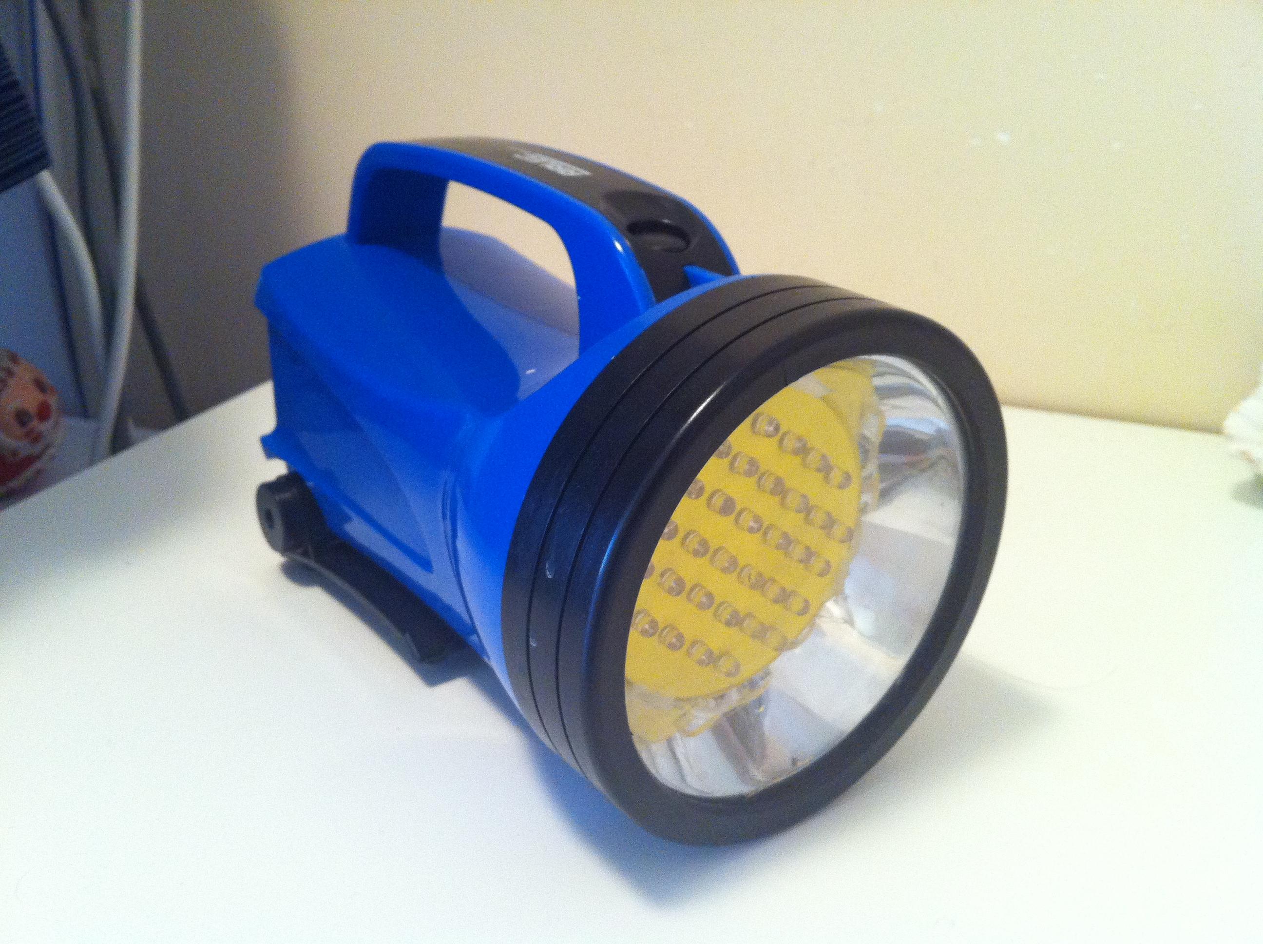 Lantern Torch LED Conversion