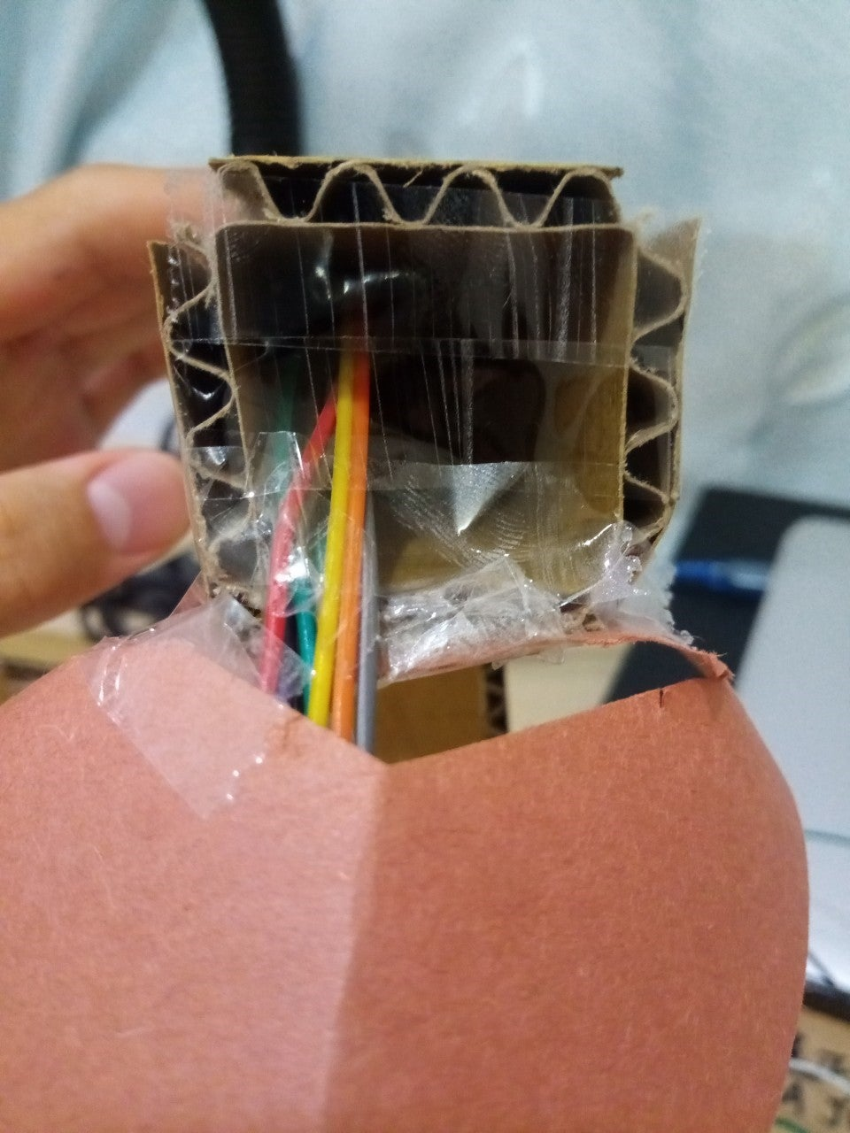 Making the Lamp's Exterior Part 2: Cutting the Lamp's Main Structure