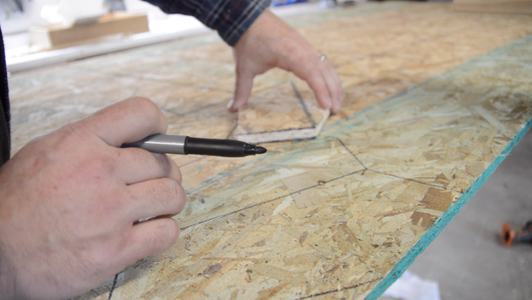 Build the 24 Gussets for the Gambrel Roof