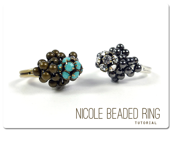 Nicole Beaded Ring