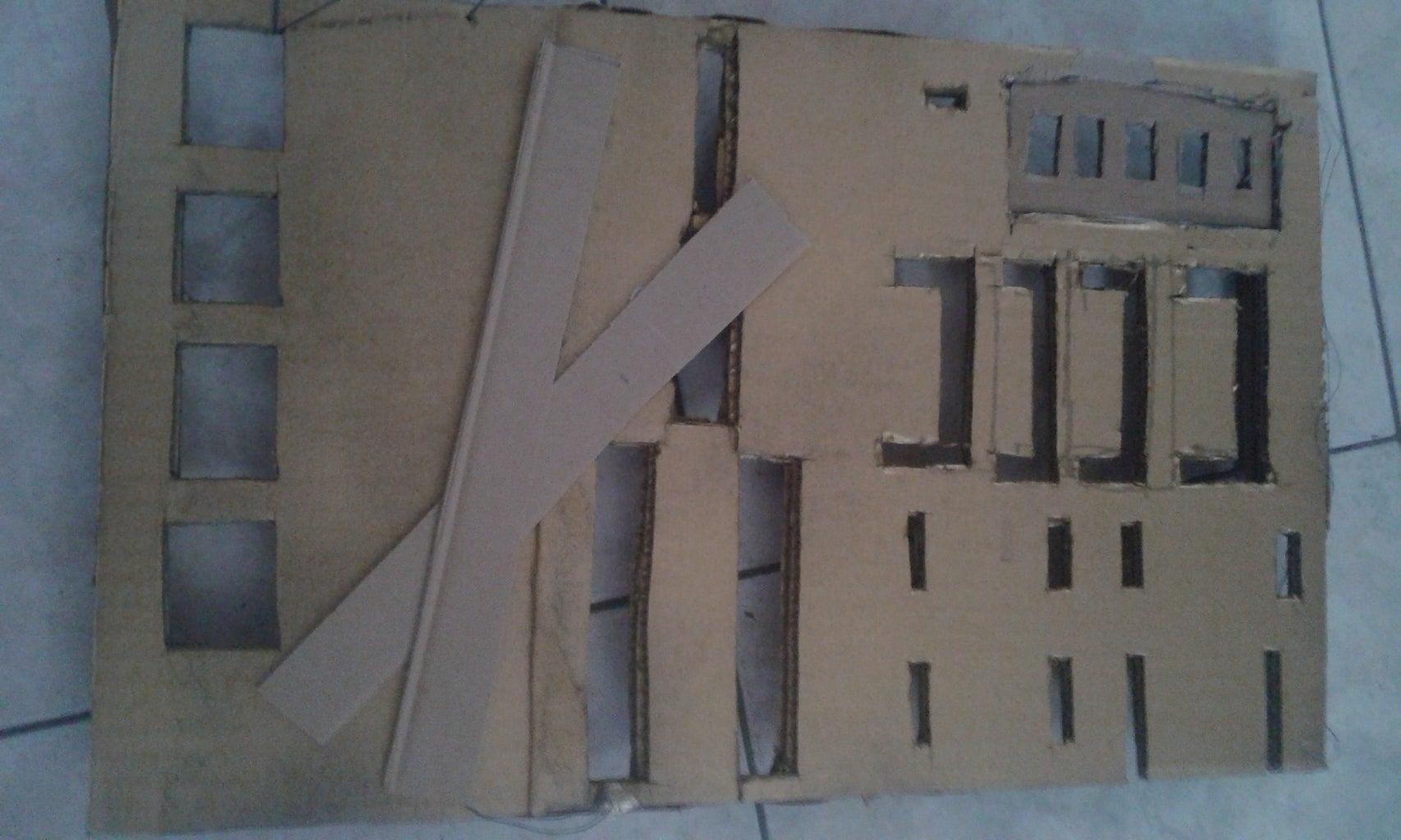 Cardboard Stripes