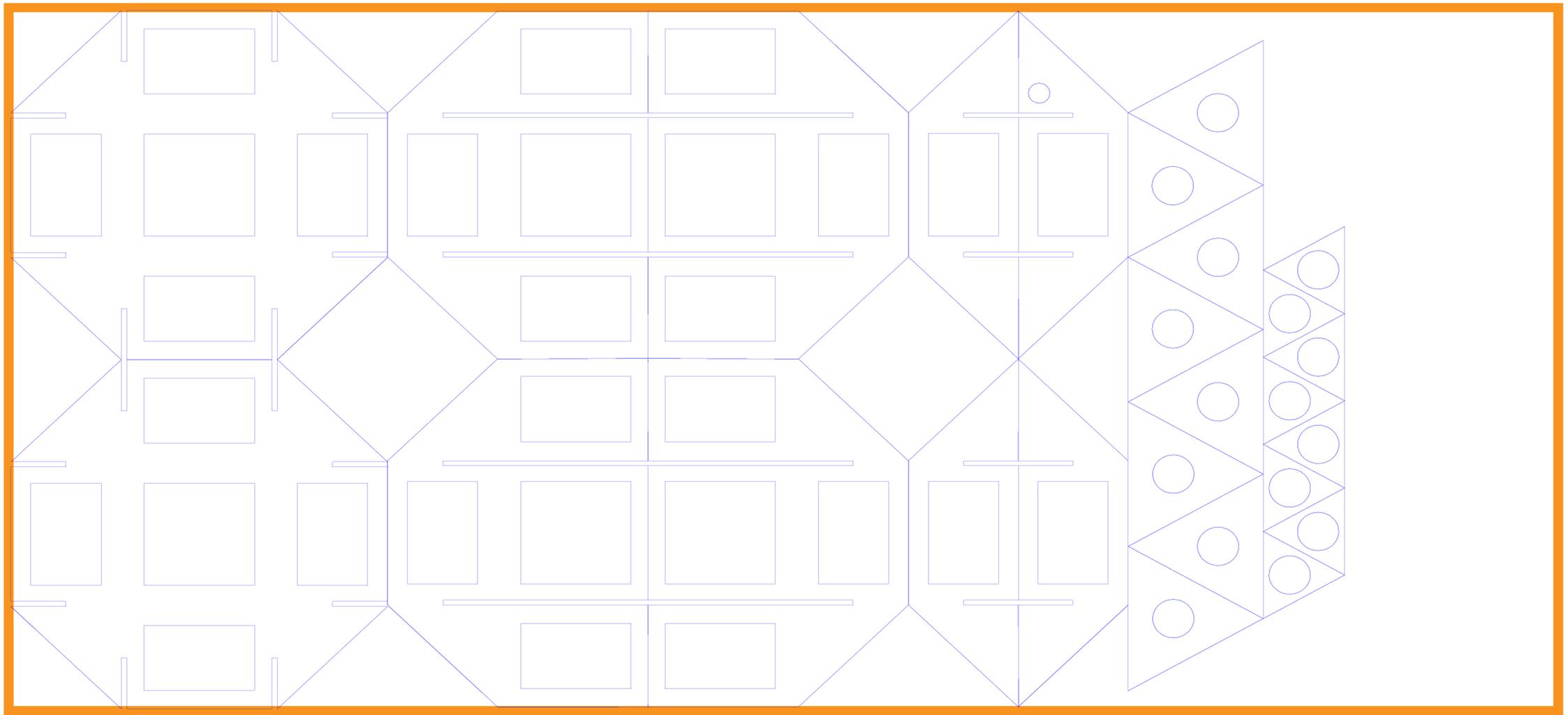 Design the Rhombicuboctahedron Frame