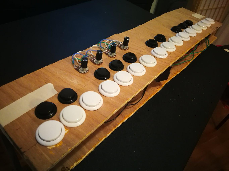 Midi Controller Button-Keyboard