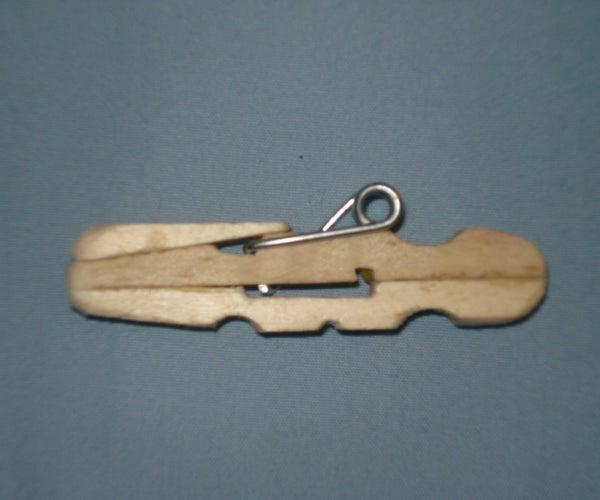 How to Make a Clothespin Gun