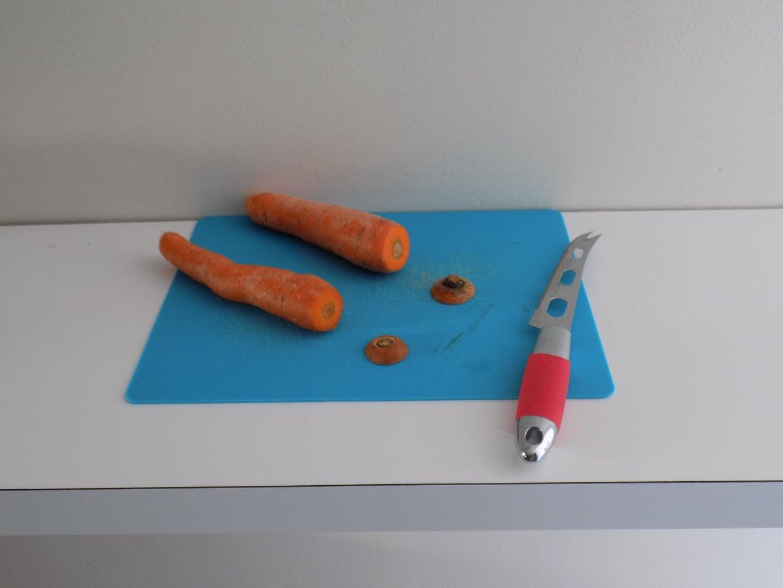 Step 1: Cut the Carrots